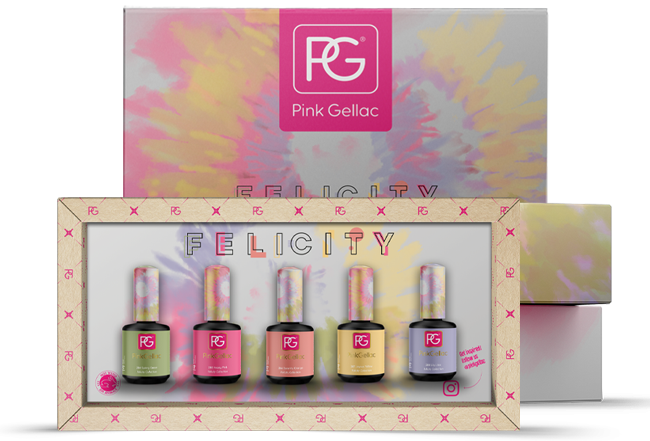 Pink Gellac Color Box Felicity