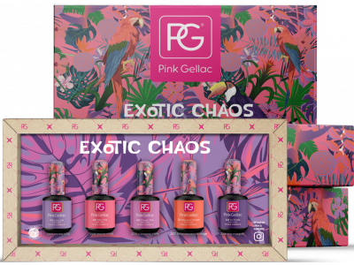 Pink Gellac Colorbox Exotic Chaos