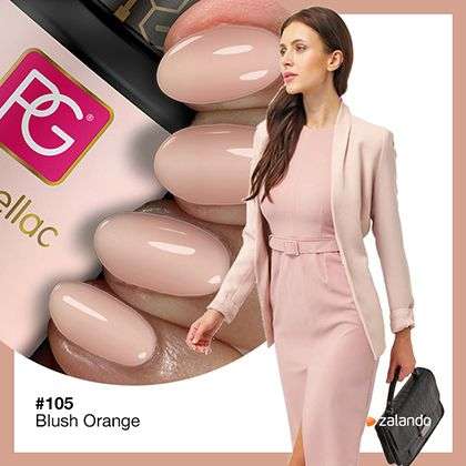 Pink Gellac Gel Nagellak Kleur 105 Blush Orange