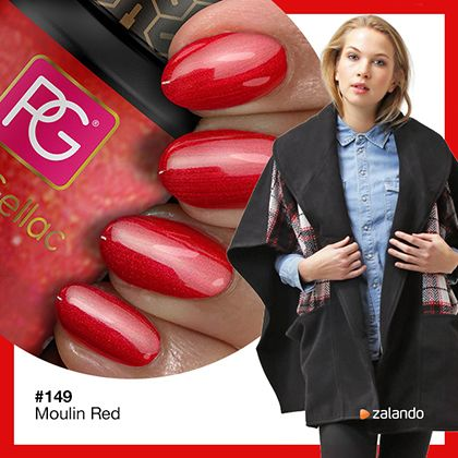 Pink Gellac Gel Nagellak Kleur 149 Moulin Red