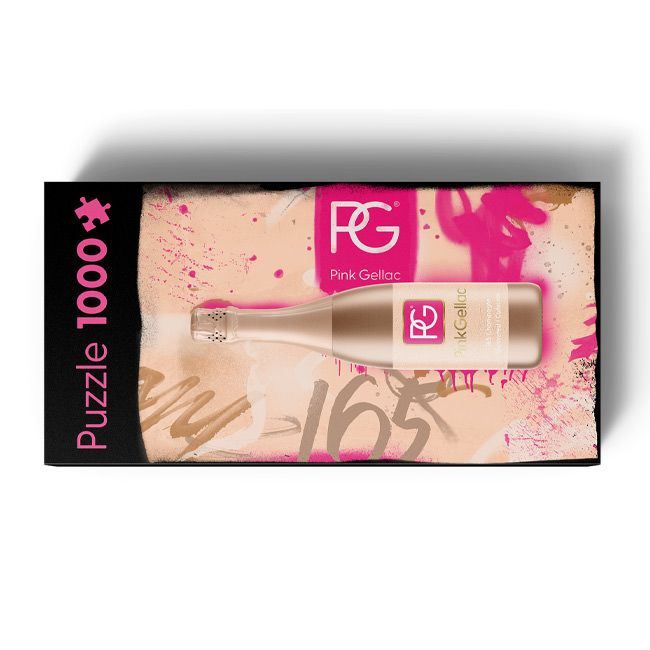 Pink Gellac Puzzel 165 Champagne Limited Edition Collectors Kado