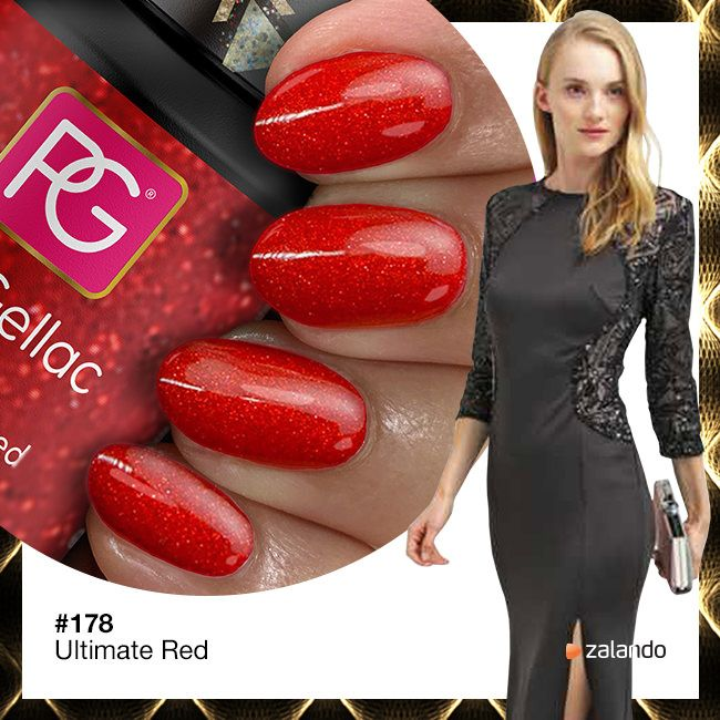 Pink Gellac Gel Nagellak Kleur 178 Ultimate Red