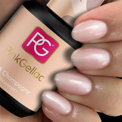 Pink Gellac 165 Champagne voorbeeld champagne roze
