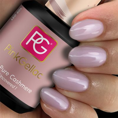 Pink Gellac 167 Pure Cashmere voorbeeld lilac