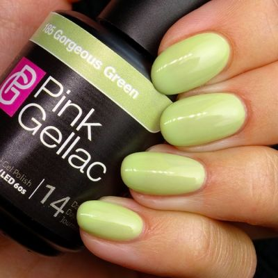 Pink Gellac 182 Gorgeous Green