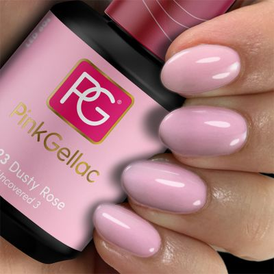 Pink Gellac Gel Nagellak Kleur 223 Dusty Rose