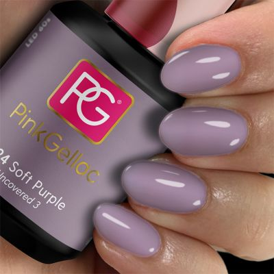 Pink Gellac Gel Nagellak Kleur 224 Soft Purple