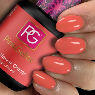 Pink Gellac 244 Hawaii Orange