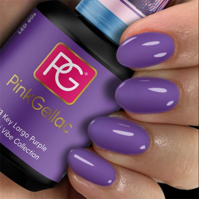 Pink Gellac Gel Nagellak Kleur 273 Key Largo Purple