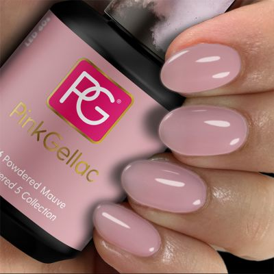 Pink Gellac Gel Nagellak Kleur 276 Powdered Mauve