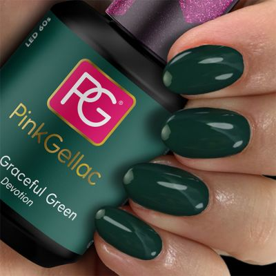Pink Gellac 309 Graceful Green