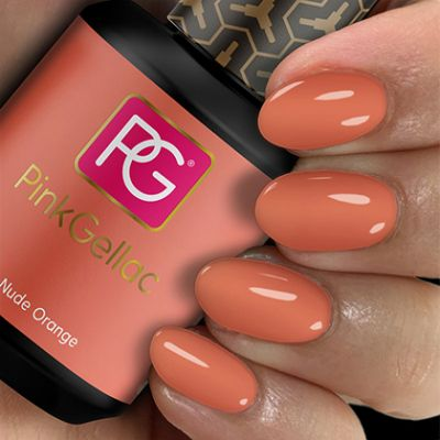 Pink Gellac Gel Nagellak Kleur 106 Nude Orange