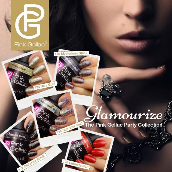 Glamourize, The Pink Gellac Party Collection