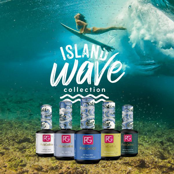 Pink Gellac - Island Wave Collection