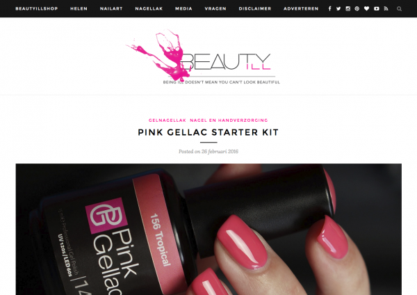 Pink Gellac Review by Beautyill   Pink Gellac Starter set