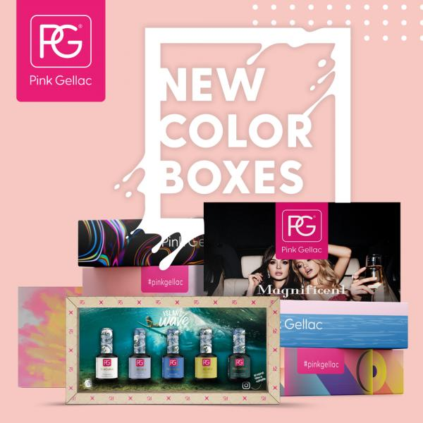 Pink Gellac - Color Boxes