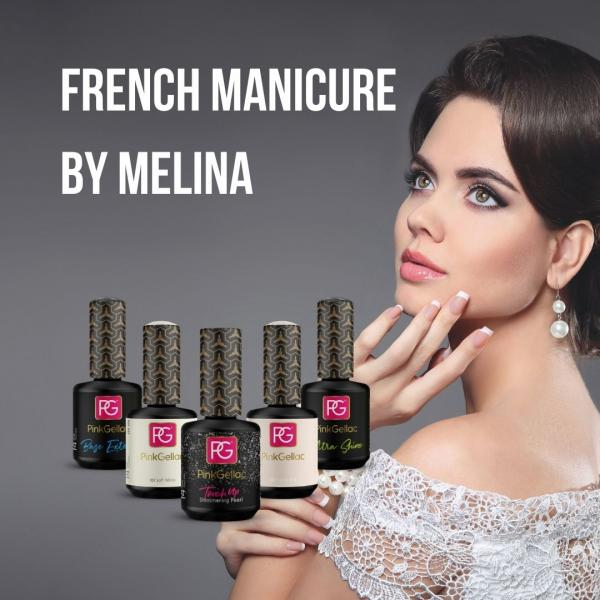 French Manicure by Melina - Pink Gellac