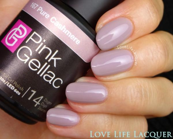 Pink Gellac review by Love Life Lacquer  Uncovered1 Collectie