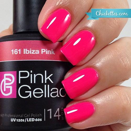 Pink Gellac review by Chickettes| Ibiza Collectie