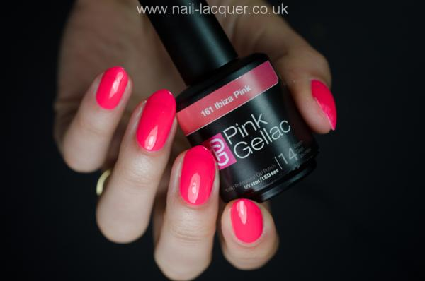 Pink Gellac review by Nail lacquer UK| Ibiza Collectie