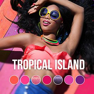 Pink Gellac - Tropical Island Collectie