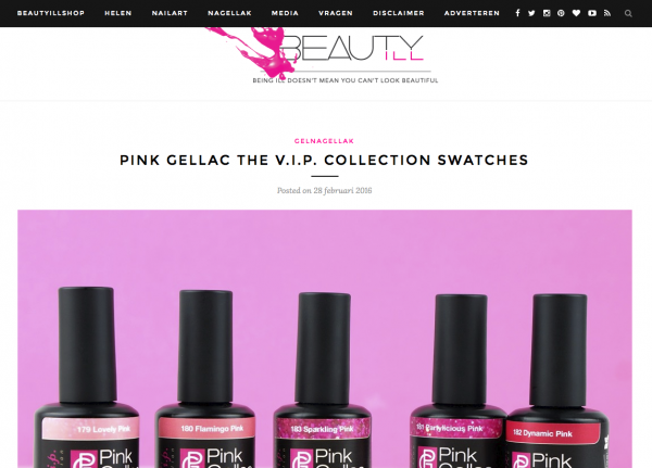 Pink Gellac Review by Beautyill | VIP Collection