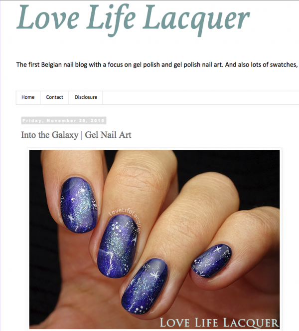 Pink Gellac Review by Love, Life, Lacquer | Galaxy Nail Art