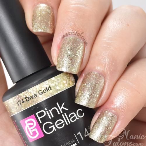 Pink Gellac review by Manic Talons  Glamourize Collectie
