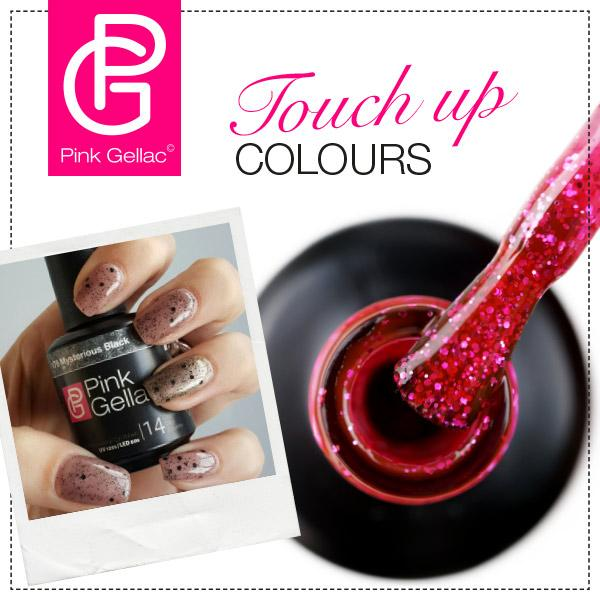 Pink Gellac Touch up colours