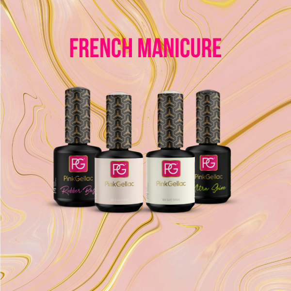 French Manicure - Pink Gellac
