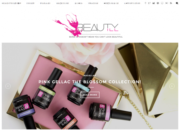 Pink Gellac Review by Beautyill   Blossom Collection