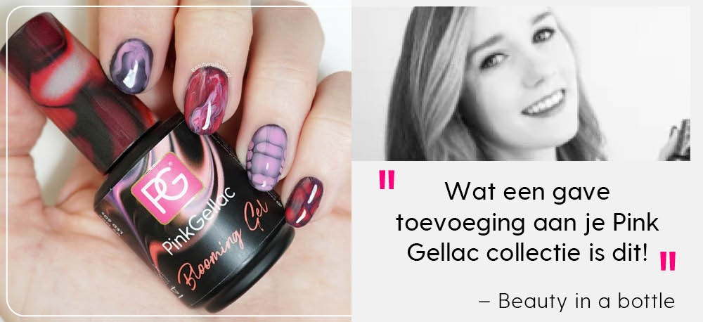 Pink Gellac Review Blooming Gel