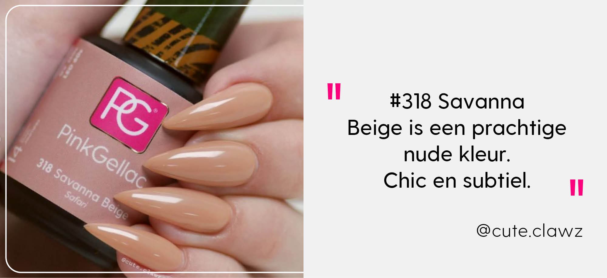 Pink Gellac Safari Collectie
