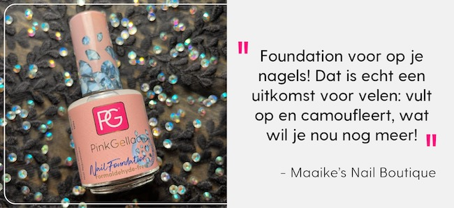 Pink Gellac Review Maaike's Nail Boutique Nail Foundation