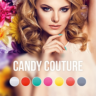Pink Gellac Candy Couture Collectie Kleuren