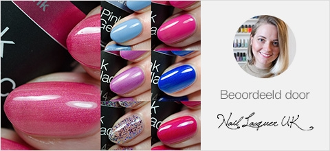 Pink Gellac Cruise Collection Review Collectie