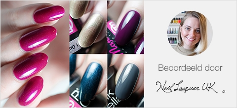 Pink Gellac Majestic Review Collectie