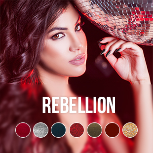 Rebellion gel nagellak kleurencollectie