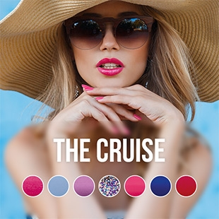 Pink Gellac Cruise Collection collectie kleuren
