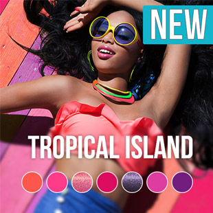 Tropical Island gel nagellak kleurencollectie