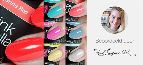 Pink Gellac Candy Couture Review Collectie