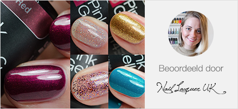 Pink Gellac Disco Glam Review Collectie