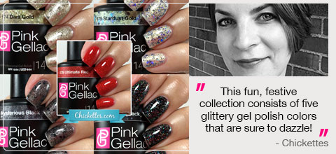 Pink Gellac Glamourize Review Collectie 01