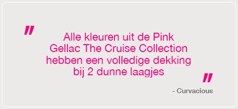 Pink Gellac Cruise Island Collection Review 02