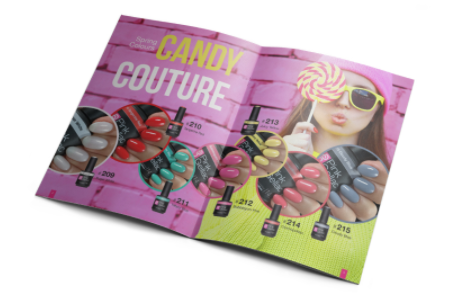 Pink Gellac Disco Glam Candy Couture Magazine