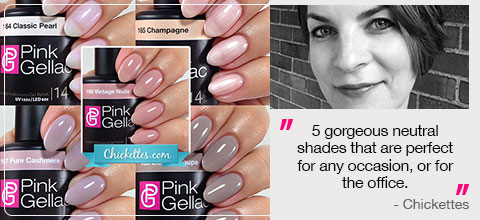Pink Gellac uncovered1 Review Collectie 01
