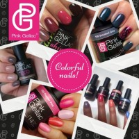 Colorful Nails met gel nagellak