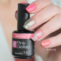 Pink Gellac Review by Be Beautifully | Valentijn nail art