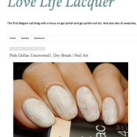Pink Gellac Review by Love, Life, Lacquer | Dry Brush