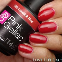 Pink Gellac review by Love Life Lacquer| Herfstkleuren